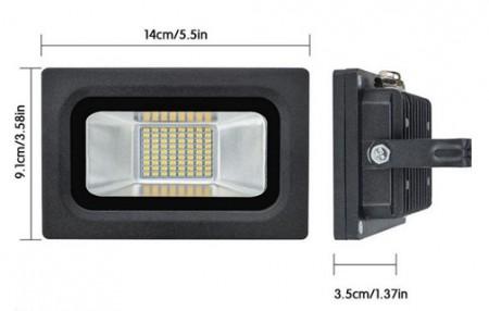 Spectra LED reflektor 15W LRSMDA3-15 6500K beli ( 112-1013         )