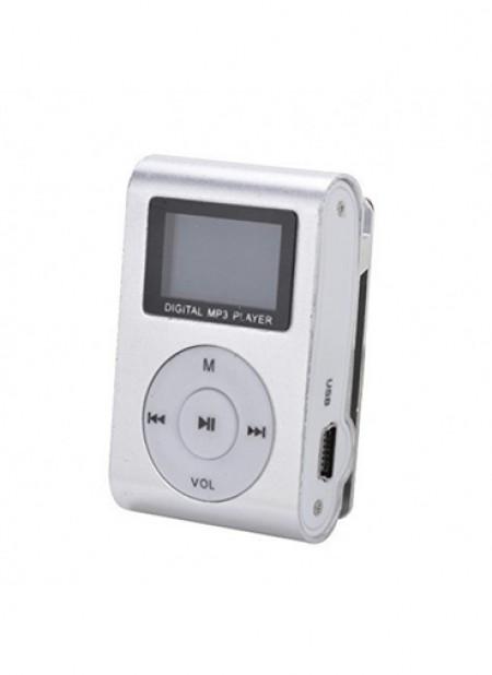 Gigatech MP3 Player GMP-13 LCD/FM/SD (kartica nije u pakovanju) srebrni ( 041-0173         )