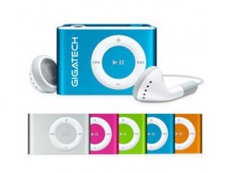 Gigatech MP3 Player GMP-03 bez displeja (kartica nije u pakovanju) crveni ( 041-0057         )
