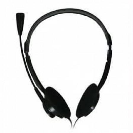Gigatech Slušalice H120 stereo slušalice sa mikrofonom crne ( 006-0264         )