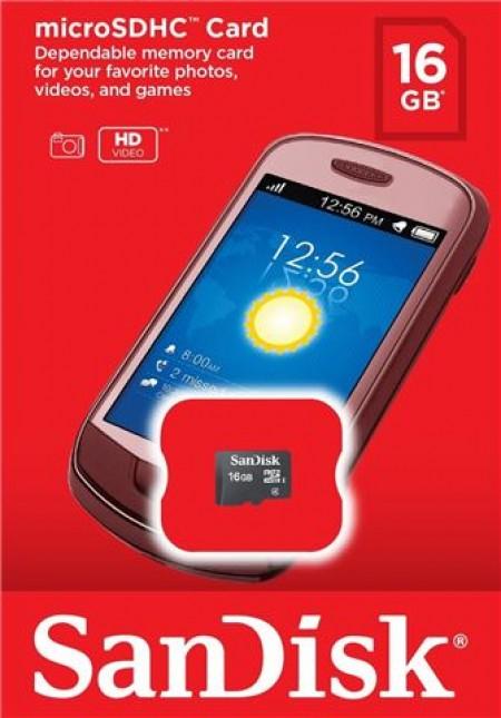 SanDisk MicroSD 16GB Ultra memorijska kartica bez adaptera SDSDQM-016G-B35 ( 0704671 )