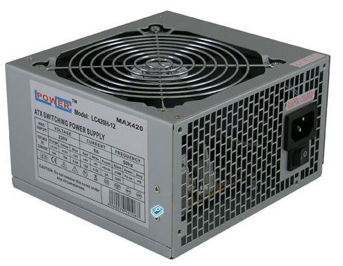 LC Power 420W LC420H-12 v1.3 12cm Fan