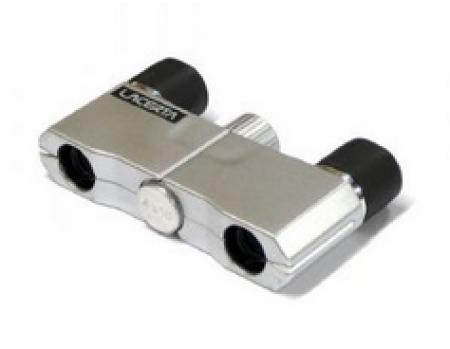 Lacerta Mikro dvogled 4x10 - srebrni ( LAC4x10S )