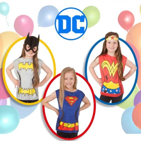 Rubies Supergirls party kostim 3-6 god ( RU33692 )