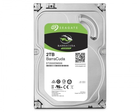 Seagate 2TB 3.5 SATA III 64MB 7.200rpm ST2000DM008 Barracuda