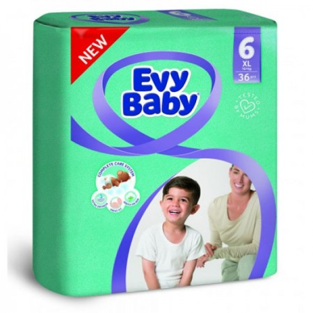 Evybaby pelene XL twinpack 15-30kg, 36kom NOVO ( 1040202 )