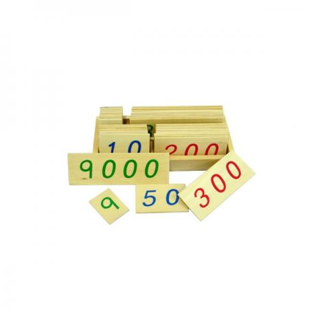 Montesori HTM0130 Numeričke pločice ( 14089 )