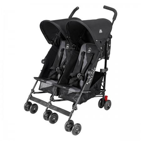 Maclaren kolica za bebe Twin Triumph Black/Charcoal ( 5020736 )