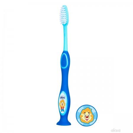Chicco plava četkica za zube 3-6 god ( 1020106 )