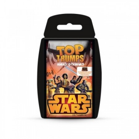 Top trumps star wars karte ( WM27816 )