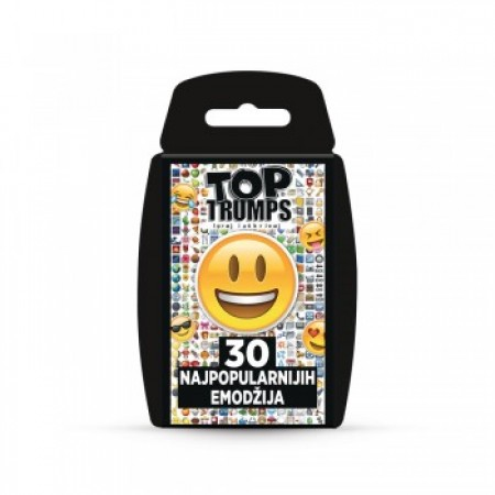 Top trumps top 30 emotis karte ( WM28936 )