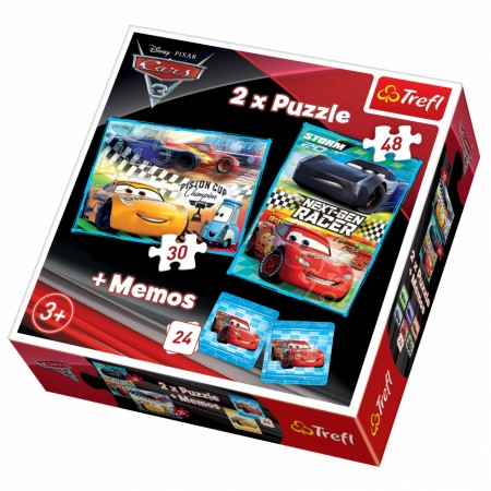 Slagalica x2 + Memos Cars ( 12-907063 )