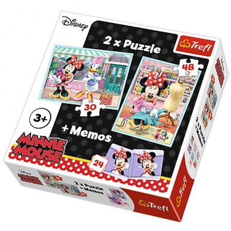 Slagalica x2 + Memos Minnie ( 12-906059 )