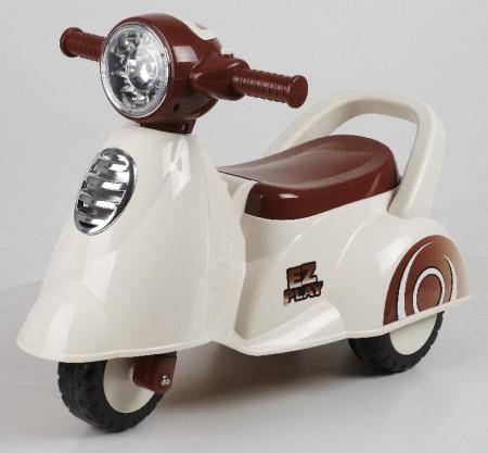 Glory Bike guralica dečija vespa bela ( NCL605-W )