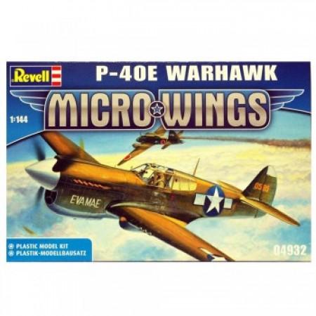 Revell maketa  micro wings p 40e warhawk ( RV04932 )
