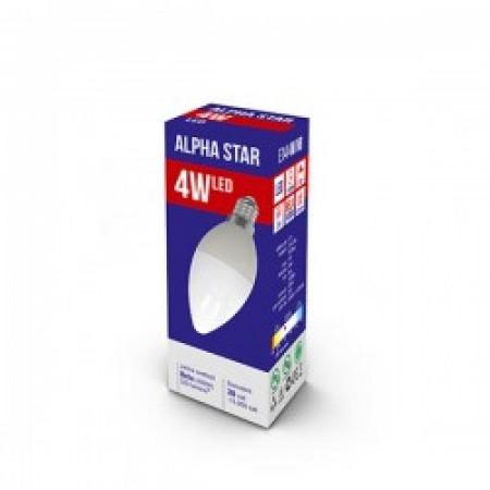 Alpha Star E14 4W 4.000K 320LM candle 15.000H 230V ( E144ASD/Z )