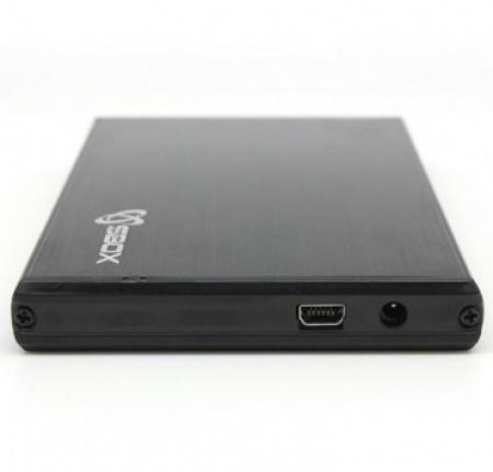 S BOX HDC 2562 B  Kućište za Hard Disk  Black