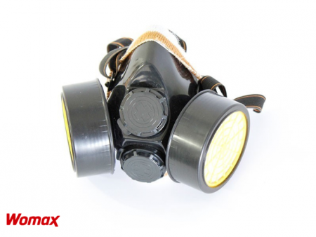Womax maska zaštitna rc-m306 sa dva filtera ( 0106038 )
