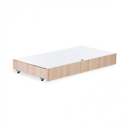 Klups Dodatak krevetu za bebe - fioka ash ( 22-41091 )