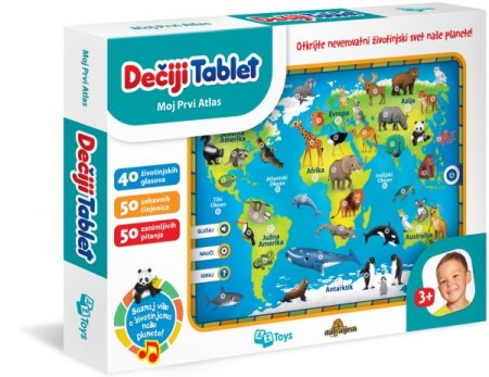 Dečiji Tablet - Moj prvi Atlas 010021 ( 11/75564 )