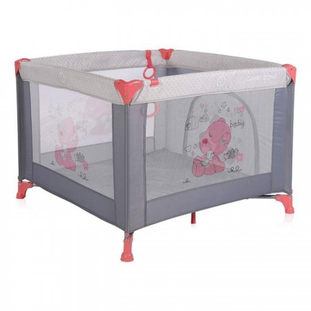 Lorelli Bertoni Ogradica game zone pink&grey my baby ( 10080141878 )