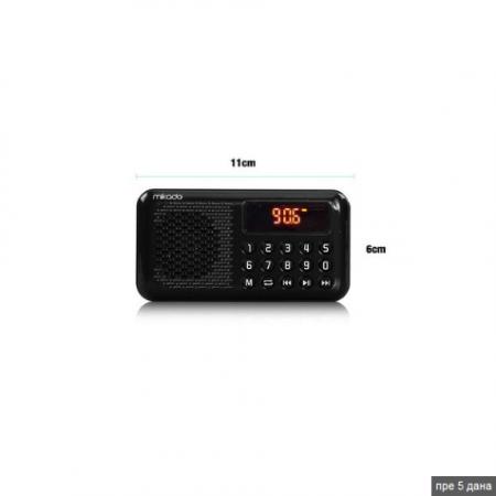 Mikado MD-R21 crni radio tranzistor 125001006 ( 16060 )
