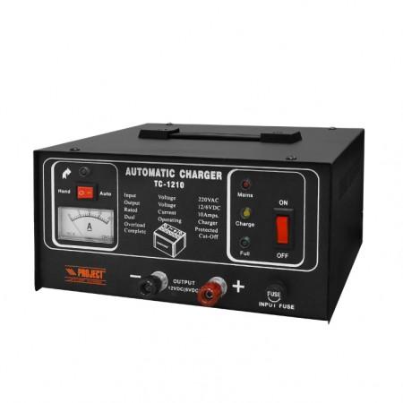 Automatski punjač akumulatora 6V/12V, 10A   ( TC-1210 )