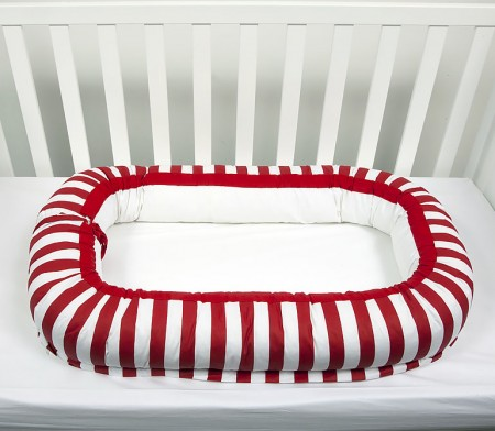 Deksi gnezdo za bebe Mornari - Crveno ( 096579 )