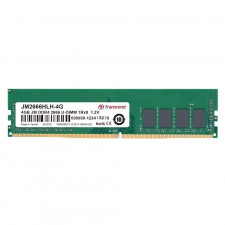 Transcend 4Gb DDR4 2666Mhz U-DIMM CL19 ( JM2666HLH-4G )
