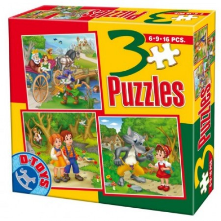 Puzzle 3 Fairy tales 06 ( 07/50922-06 )