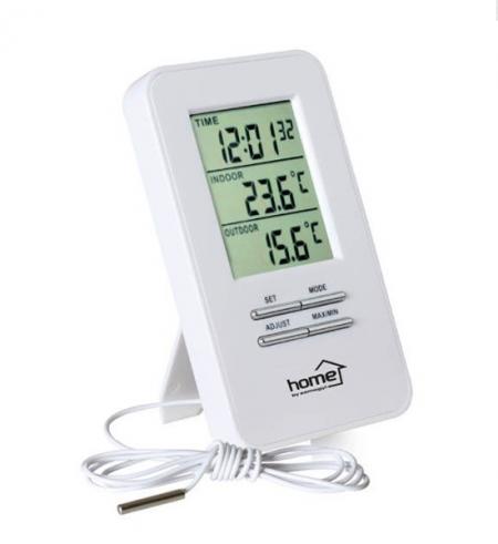 Zidni BI-termometar sa satom i sondom ( TER3/Z )