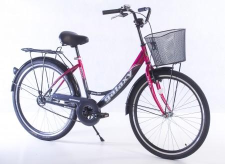 CITY Bicikla Pariss 26 siva/ciklama ( 650085 )