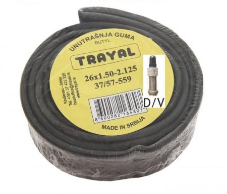 Trayal unutrašnja guma 20x1.50-2.125 DV ( 520009 )