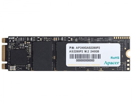 Apacer 240GB AS2280P2 M.2 PCIe ( AP240GAS2280P2-1 )
