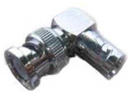 Konektor  BNC(F)-BNC(M) RG59 90 stepeni ( 017-0101         )