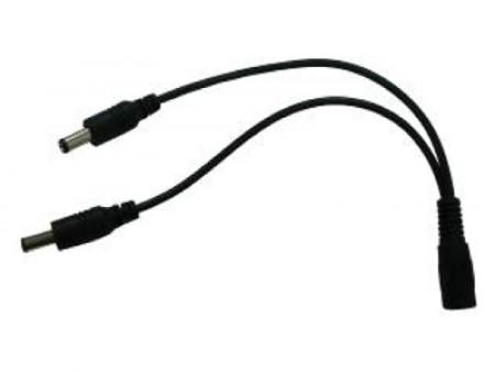 Konektor napajanja DC(F)-2xDC(M) račva 30CM ( 017-0105         )