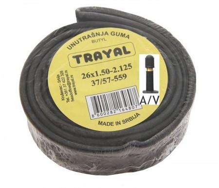 Trayal unutrašnja guma 24x1.50-2.125 AV ( 520020 )