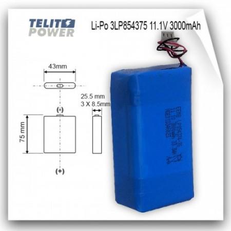 EEMB Li-Polimer 11.1V 3000mAh LP854374 ( 369 )