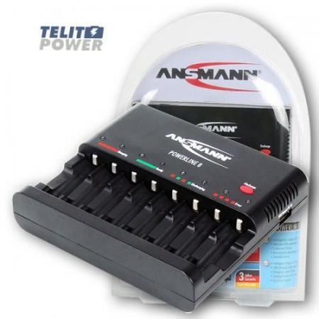 Ansmann NiMH / NiCd Inteligentni punjač sa funkcijom pražnjenja PowerLine 8 ( 1045 )