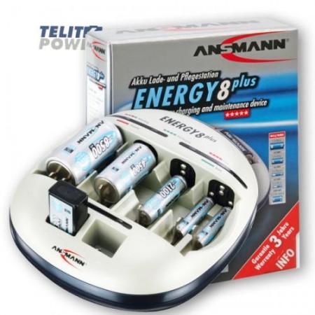 Ansmann NiMH / NiCd punjač baterija Energy8Plus ( 1066 )