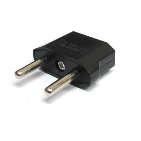 Adapter za punjač 2 rupe crni ( 01AD23 )