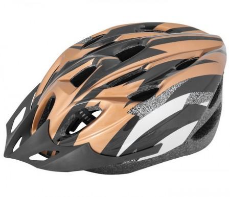 Kaciga biciklistička XTR V-18 zlatno-crna ( 080042 )