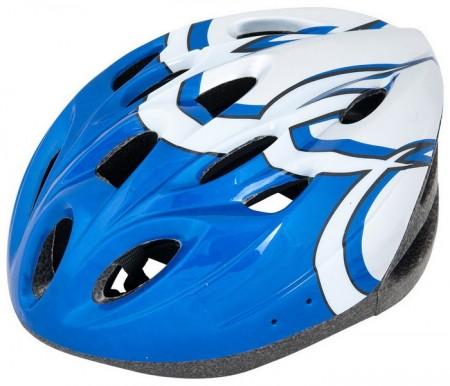 Kaciga biciklistička plavo-bela ( 080029 )