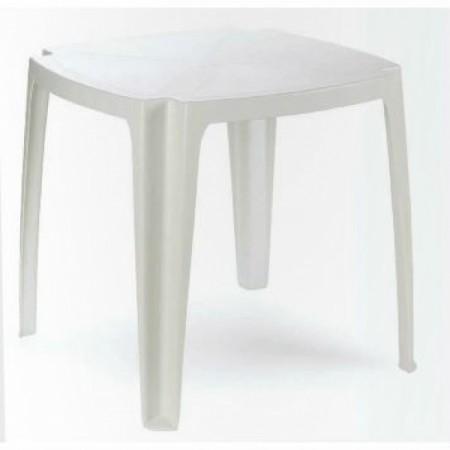 Bastenski sto plasticni 75 x 75cm - beli tavolo 75 ( 029091 )