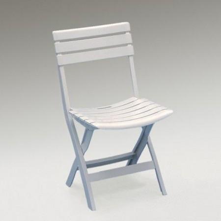 Bastenska stolica plasticna mala birki - bela ( 030762 )