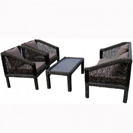 Picaso sofa set - braon ( 035439 )