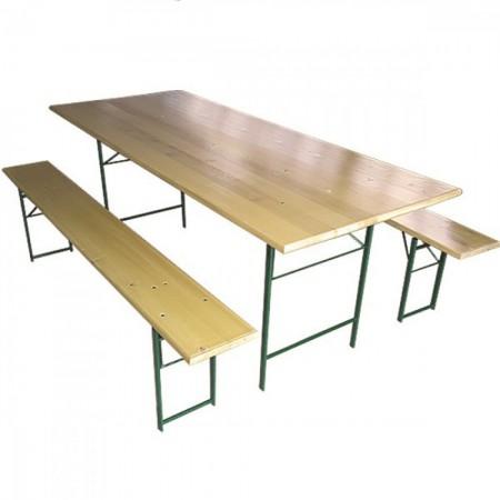 Baštenski set STOUT - STO + 2 KLUPE 220 X 80 ( 056027 )