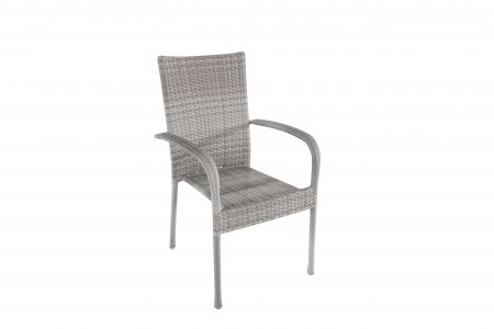 Bastenska stolica od ratana siva - avola ( 047064 )