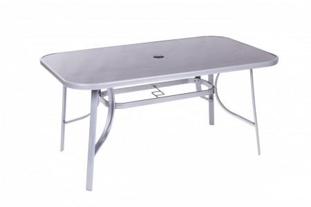Bastenski sto sivo/beli - capri ( 047000 )