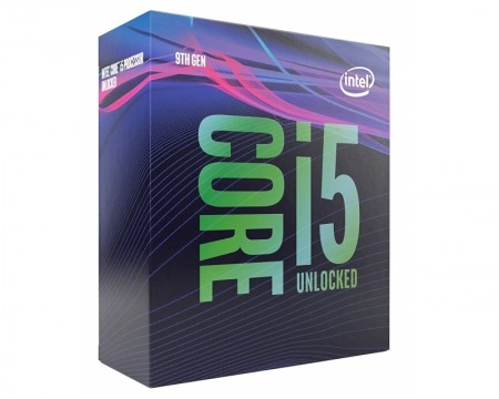 INTEL Core i5-9600K 6-Core 3.7GHz (4.6GHz) Box